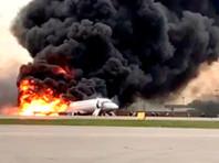 """ЧП в Шереметьево: SSJ-100 """"Аэрофлота"""" совершил экстренную посадку и загорелся"""