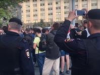 В Москве на сходе у здания ФСБ против пыток и репрессий прошли задержания