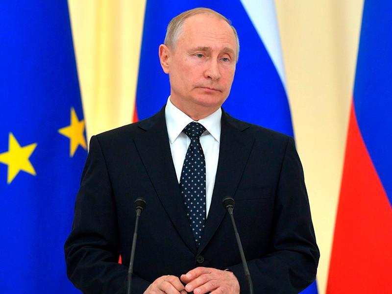 Владимир Путин на пресс-конференции по итогам переговоров с Федеральным президентом Австрии Александром ван дер Белленом