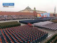 На военный парад Победы в Москве вышли 13 тысяч военнослужащих, свыше 130 единиц техники: новейшее оружие и системы. А авиапарад отменили