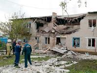 По предварительным данным, пострадавший от взрыва двухэтажный дом восстановлению не подлежит
