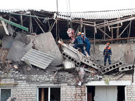 Ночью в Ростовской области взрывом газа разрушило двухэтажный жилой дом