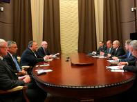Встреча Владимира Путина с Майклом Помпео продлилась 1,5 часа, но об Украине речь не зашла
