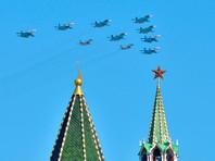 В московском параде Победы 9 мая примут участие 74 авиационных экипажа, которые будут взлетать на самолетах и вертолетах с девяти аэродромов в восьми регионах Центрального федерального округа
