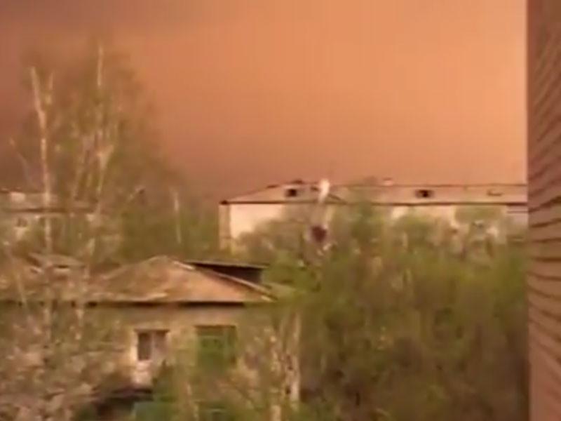 Амурскую область заволокло желтой пеленой из Китая и Монголии