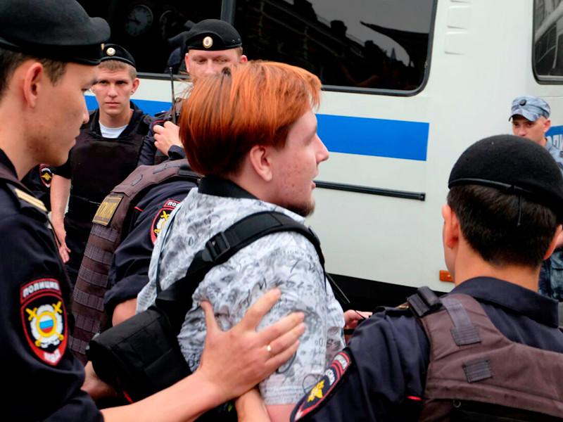 На марше в поддержку Ивана Голунова в Москве задержаны более 200 человек.