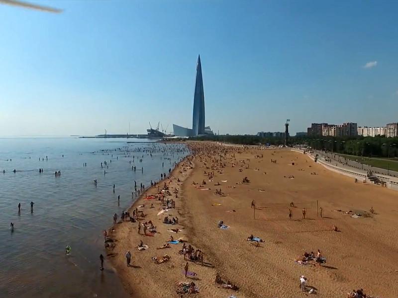 Синоптики в пятницу зарегистрировали в Санкт-Петербурге рекордную жару более чем в 30 градусов тепла, показатель превысил историческое максимальное значение в этот же день с 1988 года