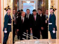 Путин и Си Цзиньпин после встречи в Кремле объявили об историческом сближении России и Китая