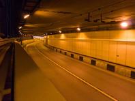 На Канале имени Москвы в районе Тушинского тоннеля вновь обнаружена течь