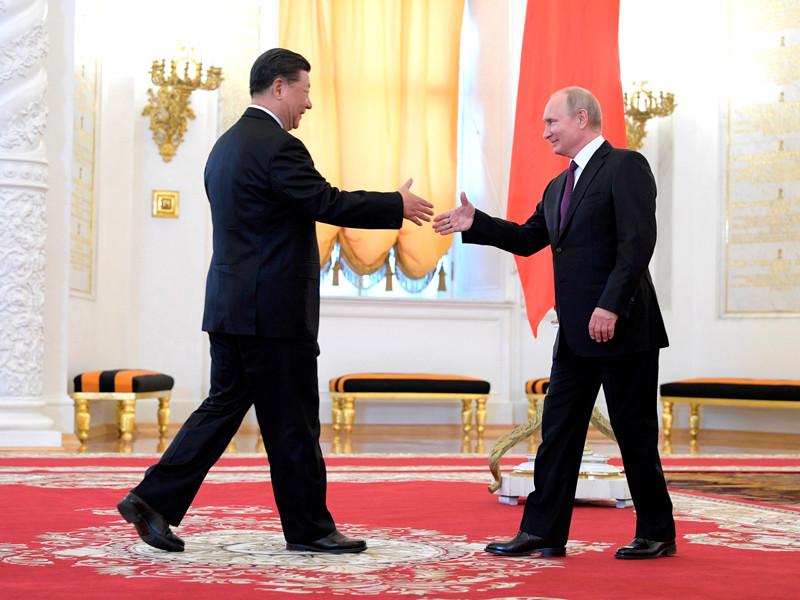 В Кремле состоялись переговоры Владимира Путина с председателем КНР Си Цзиньпином, который прибыл в Россию с государственным визитом