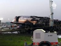 """Самолет авиакомпании """"Аэрофлот"""" SSJ-100 (""""Сухой Суперджет 100""""), следовавший в Мурманск, совершил экстренную посадку 5 мая в московском аэропорту Шереметьево. После посадки лайнер загорелся"""