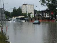 Движение в сторону Шереметьево перекрыто из-за подтопления (ФОТО, ВИДЕО)
