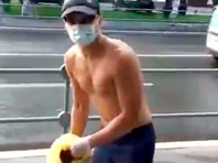 В Москве облили фекалиями сборщиков подписей за выдвижение в Мосгордуму юриста ФБК Любови Соболь