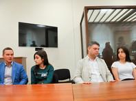 Басманный суд продлил всем трем сестрам меру пресечения в виде запрета определенных действий до 28 июля