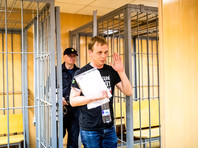 Иван Голунов в Никулинском районном суде, 8 июня 2019 года