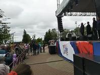 В Архангельской области протестующие против строительства мусорного полигона освистали губернатора на Дне России (ВИДЕО)