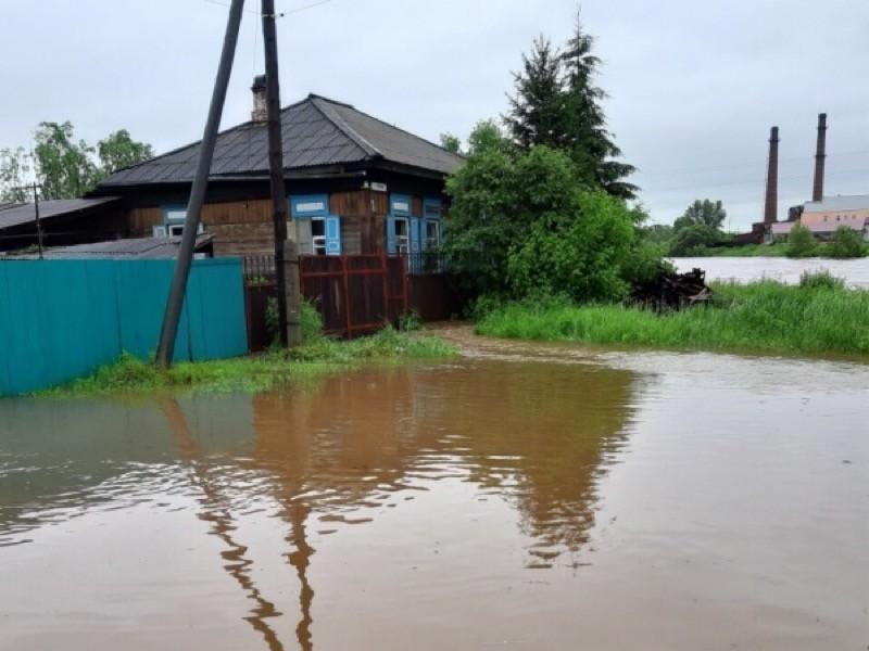 С 25 июня Иркутская область находится под влиянием циклона, на большей части территории идут дожди различной интенсивности, что привело к паводку в ее западной части