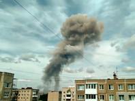 """В цехе нижегородского завода """"Кристалл"""" по производству тротила прогремело несколько взрывов (ФОТО, ВИДЕО)"""
