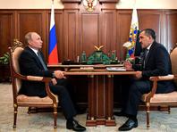 Владимир Путин и Юнус-Бек Евкуров, июль 2018 года