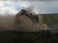 Подземный пожар рядом с жилыми домами