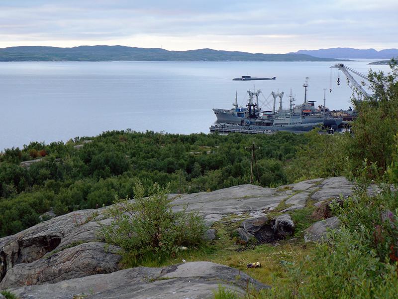 Военно-морская база в г. Североморск