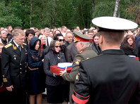 """Военные на похоронах экипажа """"Лошарика"""" заявили о предотвращении """"катастрофы планетарного масштаба"""""""