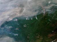 Дым от неконтролируемых лесных пожаров в Сибири дошел до Монголии. Вскоре он может накрыть и Москву. Масштаб пожаров виден из космоса (ФОТО)