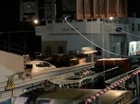 Вечером 12 июля в порту Хабаровска косаток благополучно погрузили в транспортировочных ваннах на судно