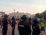 Москва, Трубная площадь, 27 июля 2019 года