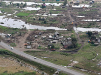 Владимир Путин осмотрел с вертолета территории, пострадавшие от паводка в Иркутской области