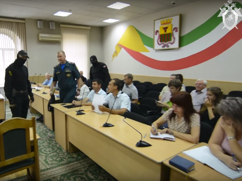 В Чите майора МЧС задержали на совещании за хищение выделенных на пожарную технику 1,7 млн рублей
