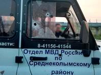 В Среднеколымске по прибывшим на вызов женщины о семейном конфликте помощнику оперативного дежурного отдела полиции и сотрудника Росгвардии был открыт огонь