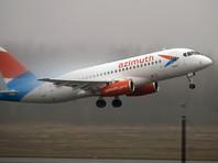 SSJ-100, выполнявший рейс Краснодар-Тюмень, экстренно сел в Самаре