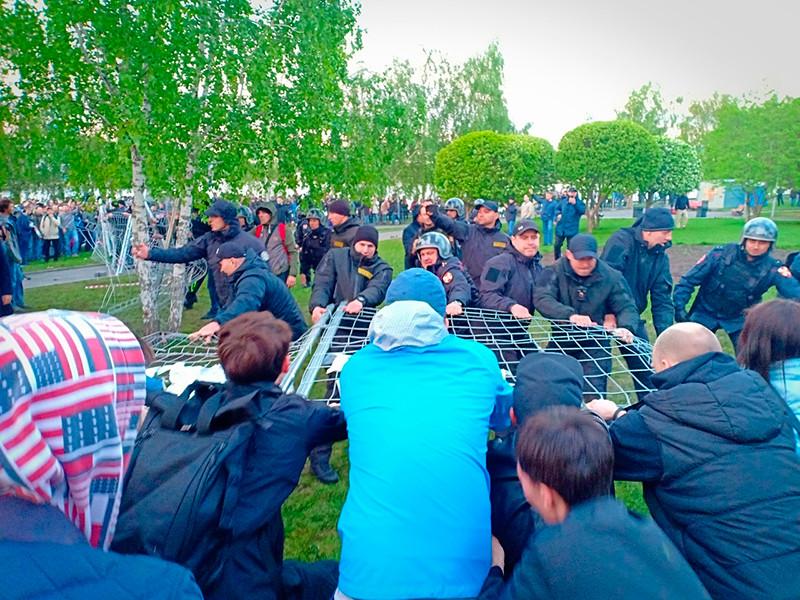 В Екатеринбурге впервые оправдан участник акции в защиту сквера