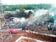 Подмосковные Мытищи частично обесточены после пожара около ТЭЦ