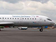 В Саратове самолет со 112 пассажирами выкатился за пределы ВПП