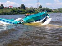 Легкомоторный самолет разбился в Подмосковье, упав в воду. Погибли два человека (ВИДЕО)