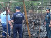 В Хабаровском крае госпитализирован еще один ребенок после пожара в палаточном лагере