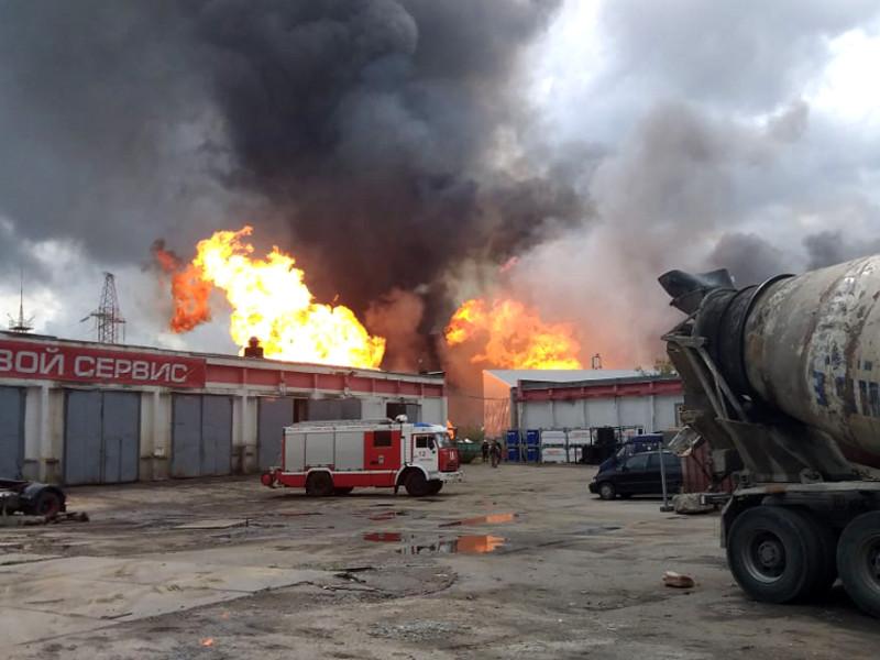 """В ходе пожара на территории ТЭЦ """"Северная"""" в Мытищах погиб один человек, не менее 13 человек пострадали"""