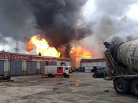 Один человек погиб и 13 пострадали при пожаре на территории ТЭЦ в Мытищах