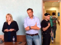 Алексей Навальный арестован на 10 суток за участие в марше в поддержку Ивана Голунова