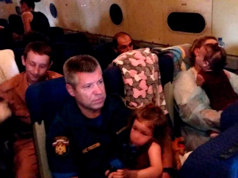 В Россию из иракской тюрьмы доставлены 33 ребенка, чьих матерей обвиняют в терроризме