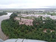 Охваченные наводнениями территории Приамурья