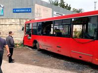 """Авария произошла около 17:00 на Ново-Гайвинской улице около остановки """"Лесозавод"""""""