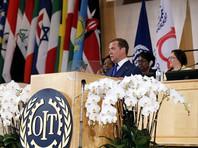 О возможном сокращении рабочей недели до четырех дней ранее заявил на 108-й сессии Международной организации труда премьер-министр РФ Дмитрий Медведев