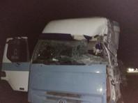 В Ставропольском крае в результате столкновения автобуса с грузовиком пять человек погибли, еще 19 получили различные травмы