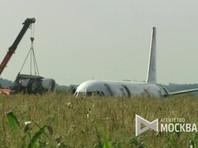 Аварийно севший в Подмосковье Аirbus A321 приподнят с грунта