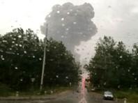 На арсенале под Ачинском - новый пожар и взрывы, опасность их продолжения сохраняется