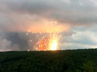 В Красноярском крае на территории воинской части произошли взрывы и пожар (ВИДЕО)