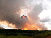 В Минобороны назвали предварительную причину взрывов на арсенале в Красноярском крае
